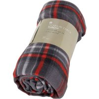 Mckinlay Check Throw - Red