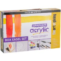 Daler-Rowney Graduate Acrylic Box Easel Set