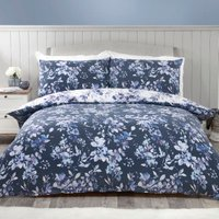 Delphine Floral Duvet Cover and Pillowcase Set - Double