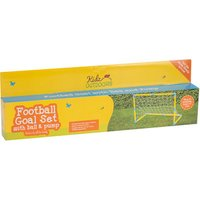 Football Goal With Ball And Pump