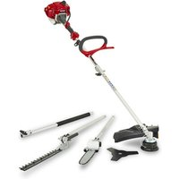 Mountfield Mm2605 Petrol Garden Multi-Tool - Red/Grey