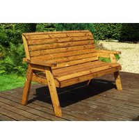 Charles Taylor Three Seater Winchester Bench - Redwood