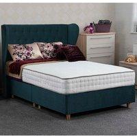 Jonas and James Dartmoor Divan Bed Set - Plush Ocean / 1500mm / Single / 4