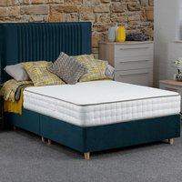 Jonas and James Hadleigh Divan Bed Set With Mattress - Ocean / Single / 4