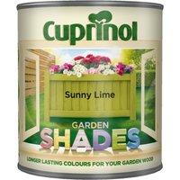 Cuprinol Garden Shades Paint - Sunny Lime / 1l
