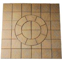 Bowland Stone Chalice Circle 2.7m Paving Kit  - Mellow Gold