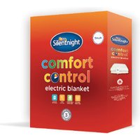 'Silentnight Comfort Control Electric Blanket - Single