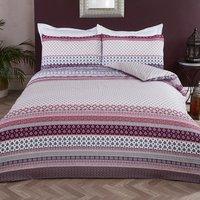 Indira Tribal Duvet Cover and Pillowcase Set - King