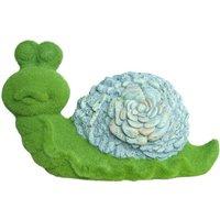 Flocked Decorative Snail