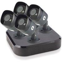 'Yale Cctv Security System - Black / 4 Cameras