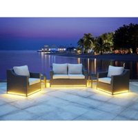 Solar Five Piece Light Up Sofa Set