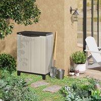 Plastic Utility Cabinet Garden Tool Shed - Beige / 91.4cm