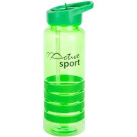Active Sport Plastic Sports Bottle - Green