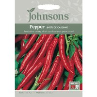 Pack of Cayenne Hot Pepper Seeds