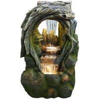 Serene Woodland Water Feature
