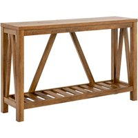 Ohara Rustic Entryway Table - Rustic Oak