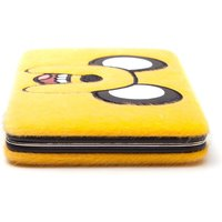 ADVENTURE TIME Jake Furry Big Face Girl Hinged Purse Wallet
