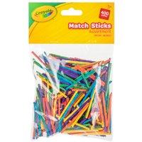 'Crayola Multicoloured Match Sticks