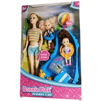 Bonnie Pink Summer Time Doll With Accessories - Accessories Gifts