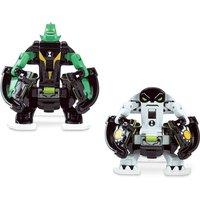 Ben 10 Omni Launch Battle Figures Refill - Diamondhead and Cannonbolt - Ben 10 Gifts