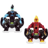 Ben 10 Omni Launch Battle Figures Refill - Heatblat and XLR8 - Ben 10 Gifts