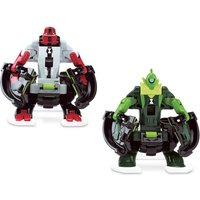 Ben 10 Omni Launch Battle Figures Refill - Fourarms and Wildvine - Ben 10 Gifts