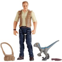 Jurassic World Figure - Owen & Baby