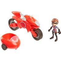 Disney Pixar Incredibles 2 Junior Supers Vehicle - Elasticycle & Elastigirl - The Entertainer Gifts