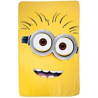 Despicable Me Fleece Blanket - Yellow - Despicable Me Gifts