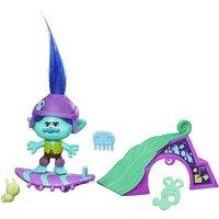 DreamWorks Trolls Branchs Skate N Skitter Figure Set - Trolls Gifts