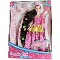 Bonnie Pink Brunette Ultra Hair Princess Doll