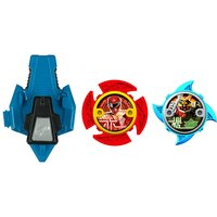 Power Ranger Ninja Steel 2 x Stars and Launcher - 43780 - The Entertainer Gifts