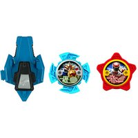 Power Ranger Ninja Steel 2 x Stars and Launcher - 43518 - The Entertainer Gifts