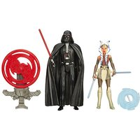 Star Wars Rebels 2 Figure Pack - Darth Vader & Ahsoka Tano - Star Wars Gifts