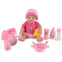 Baby Snuggles Deluxe 30cm Doll with 10 Accessories - Accessories Gifts