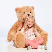 Jumbo Harry Honey Brown Soft Teddy Bear - 120cm - Teddy Gifts