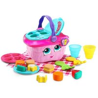 LeapFrog Shapes and Sharing Picnic Basket - Pink - The Entertainer Gifts