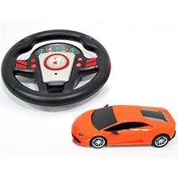 1:24 Remote Control Lamborghini - Orange - Remote Control Gifts