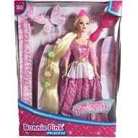 Bonnie Pink Blond Ultra Hair Princess Doll - Pink Dress - Dolls Gifts