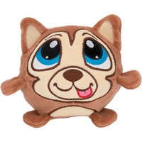 Crunchimals™ Regular Holly Crunch (Tan Husky) - Soft Toys Gifts