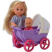 Evi Love Doll with Pram and Baby (Styles Vary)
