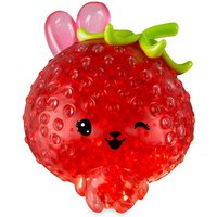 Bubbleezz Jumbo Squishy Figure - Suzy Strawbunny - The Entertainer Gifts