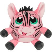 Crunchimals™ Regular Zephne Crunch (Pink Zebra) - Soft Toys Gifts