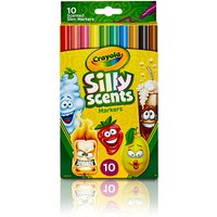 Crayola 10 Fineline Scented Markers - Crayola Gifts