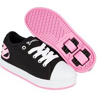 Heelys - Size 2 - Black and Pink X2 Fresh Skate Shoes - Heelys Gifts