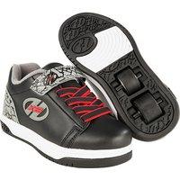 Heelys X2 Black and Grey Elephant Dual Up Skate Shoes - Size 13 - Heelys Gifts