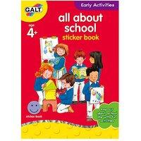 James Galt Early Activities All About School Sticker Book