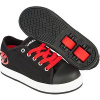 Heelys - Size 3 - Black and Red X2 Fresh Skate Shoes - Heelys Gifts