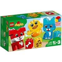 LEGO Duplo My First Puzzle Pets - 10858 - Pets Gifts
