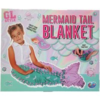 GL Style Create Your Own Mermaid Tail Blanket